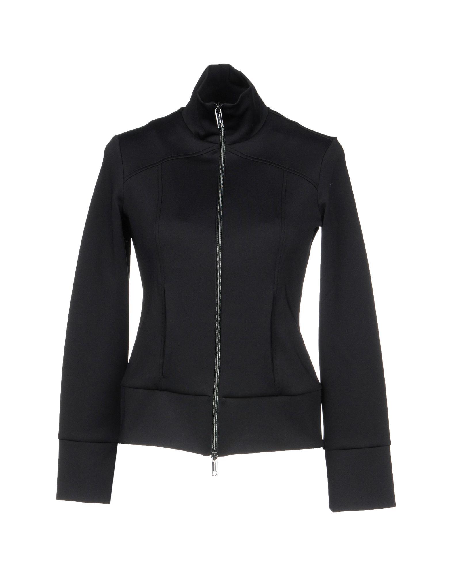 TWIN-SET Simona Barbieri Damen Sweatshirt Farbe Schwarz Größe 3
