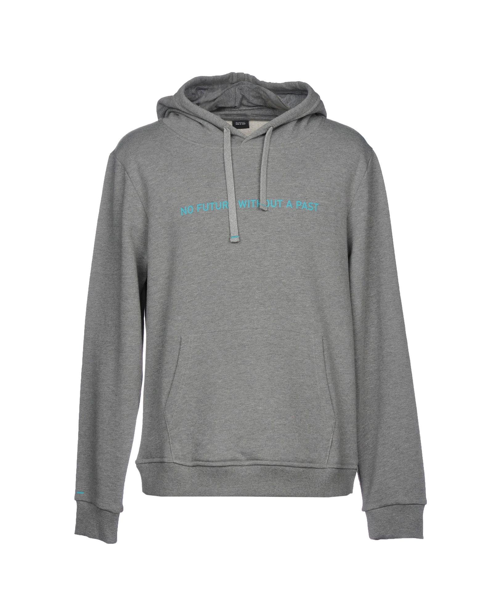 ITALIA INDEPENDENT Hooded Sweatshirt in Grey