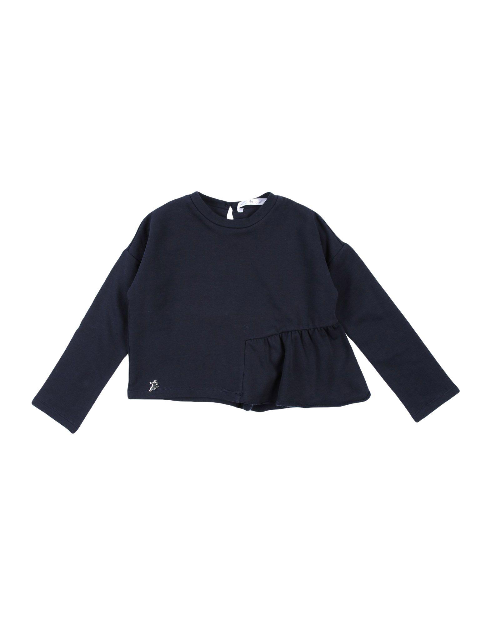 L:ú L:ú By Miss Grant Kids' Sweatshirts In Blue