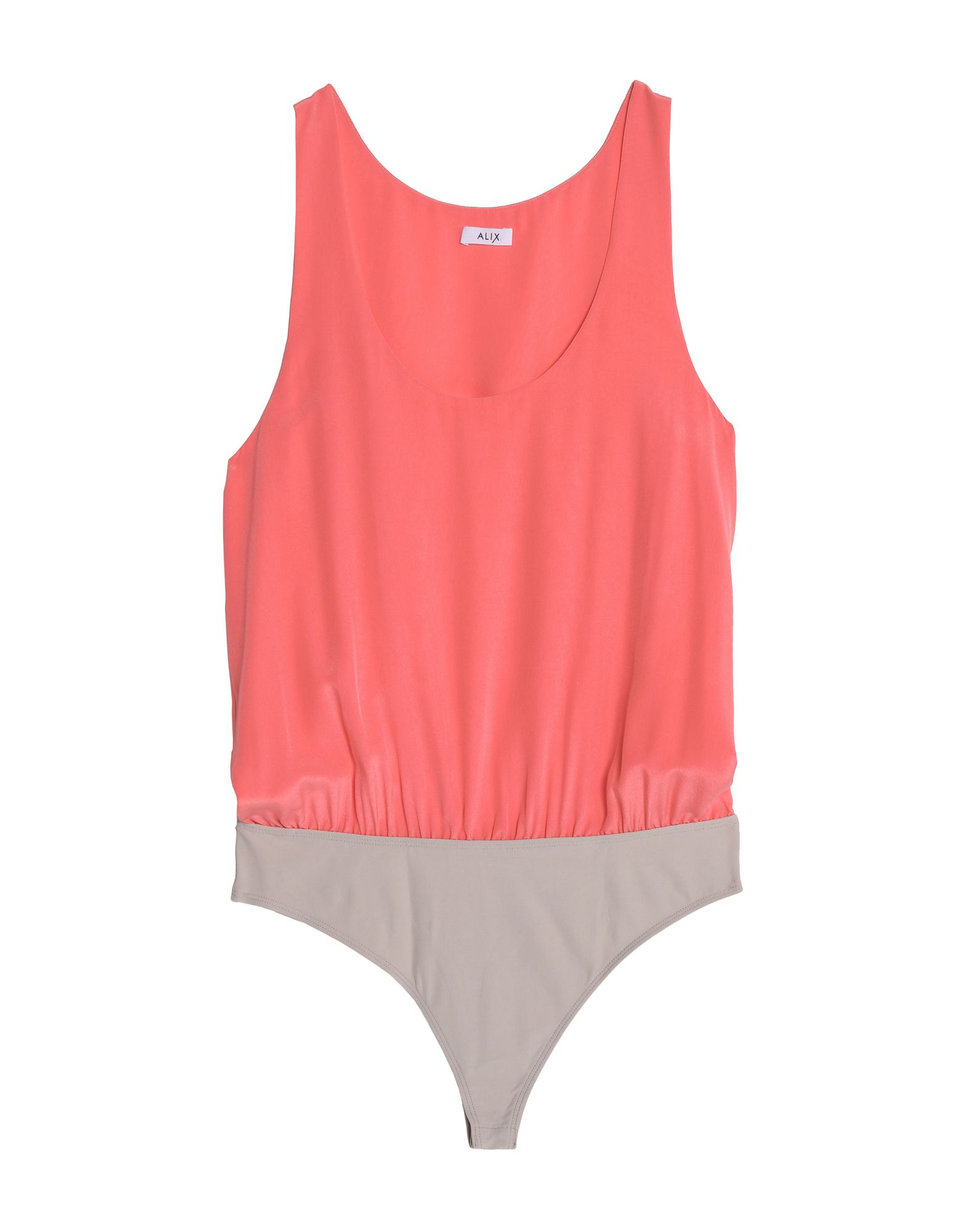 Alix Bodysuits In Salmon Pink
