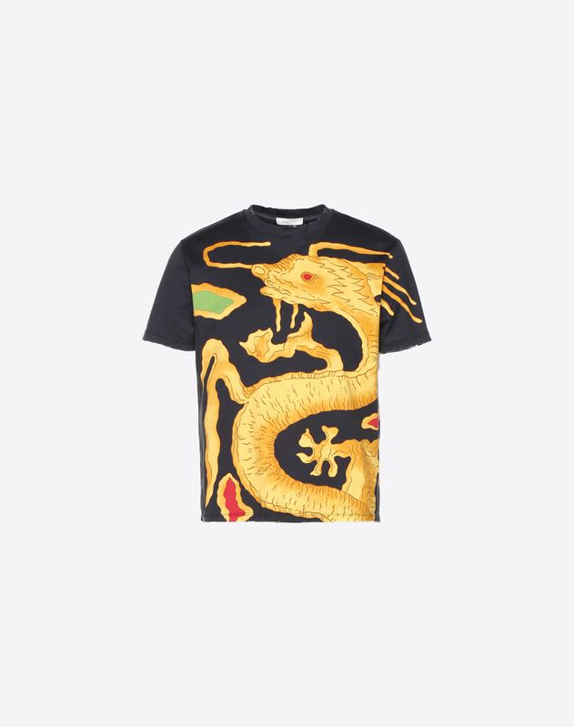 T-SHIRT IMPRIMÉ DRAGON RE-EDITION
