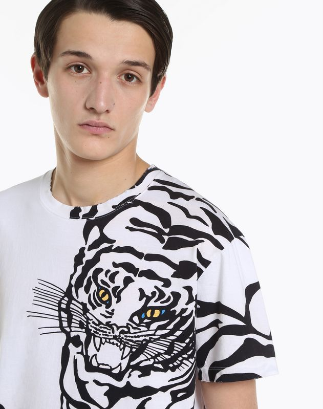 CAMISETA CON ESTAMPADO DE TIGRE RE-EDITION