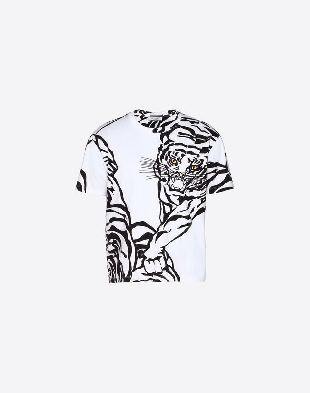 T-SHIRT WITH TIGER RE-EDITION PRINT