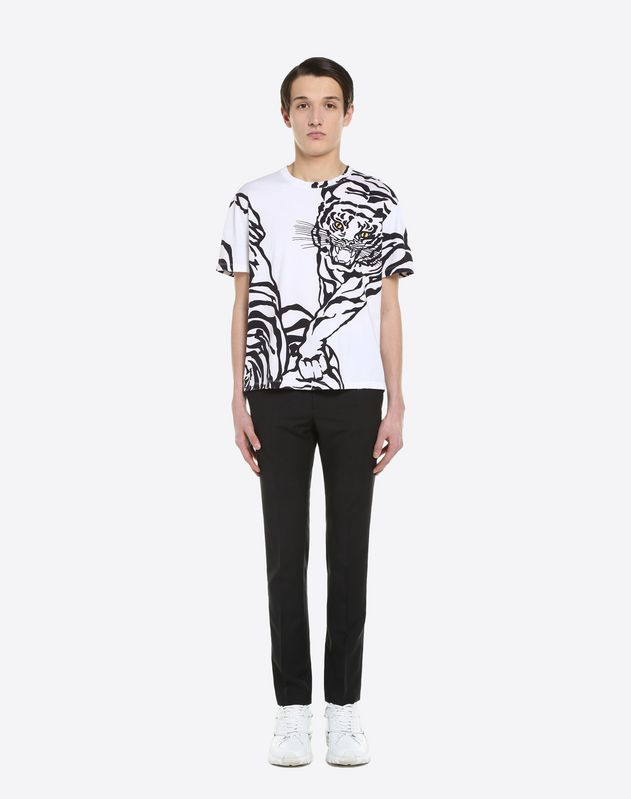 "T-SHIRT MIT ""TIGER RE-EDITION""-PRINT"