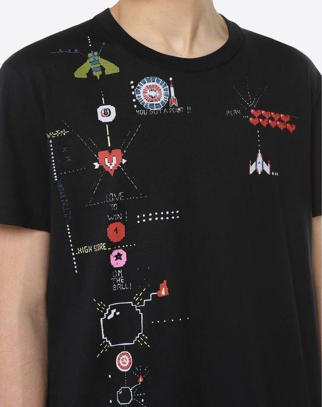 Videogames Arcade printed T-Shirt