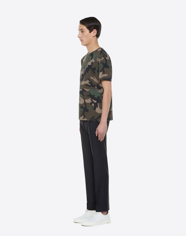 Rockstud Untitled camouflage T-shirt