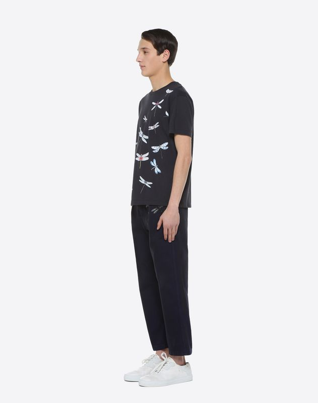 T-shirt à imprimé Dragonflies