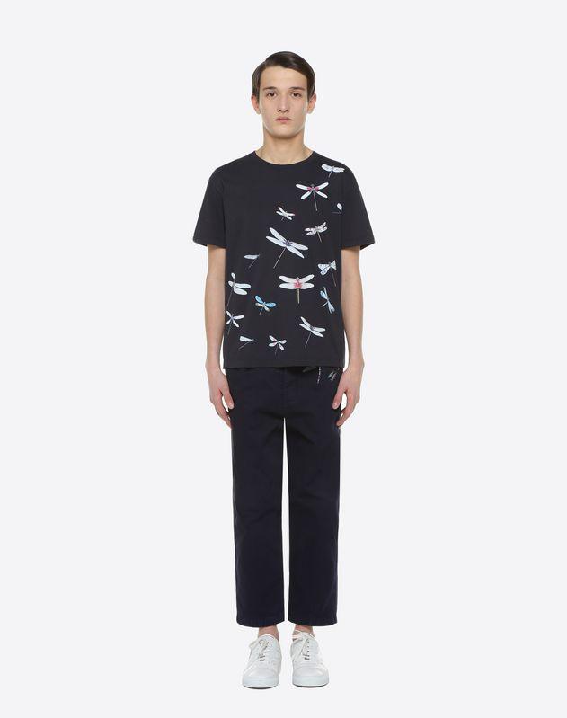 Dragonfly print T-shirt