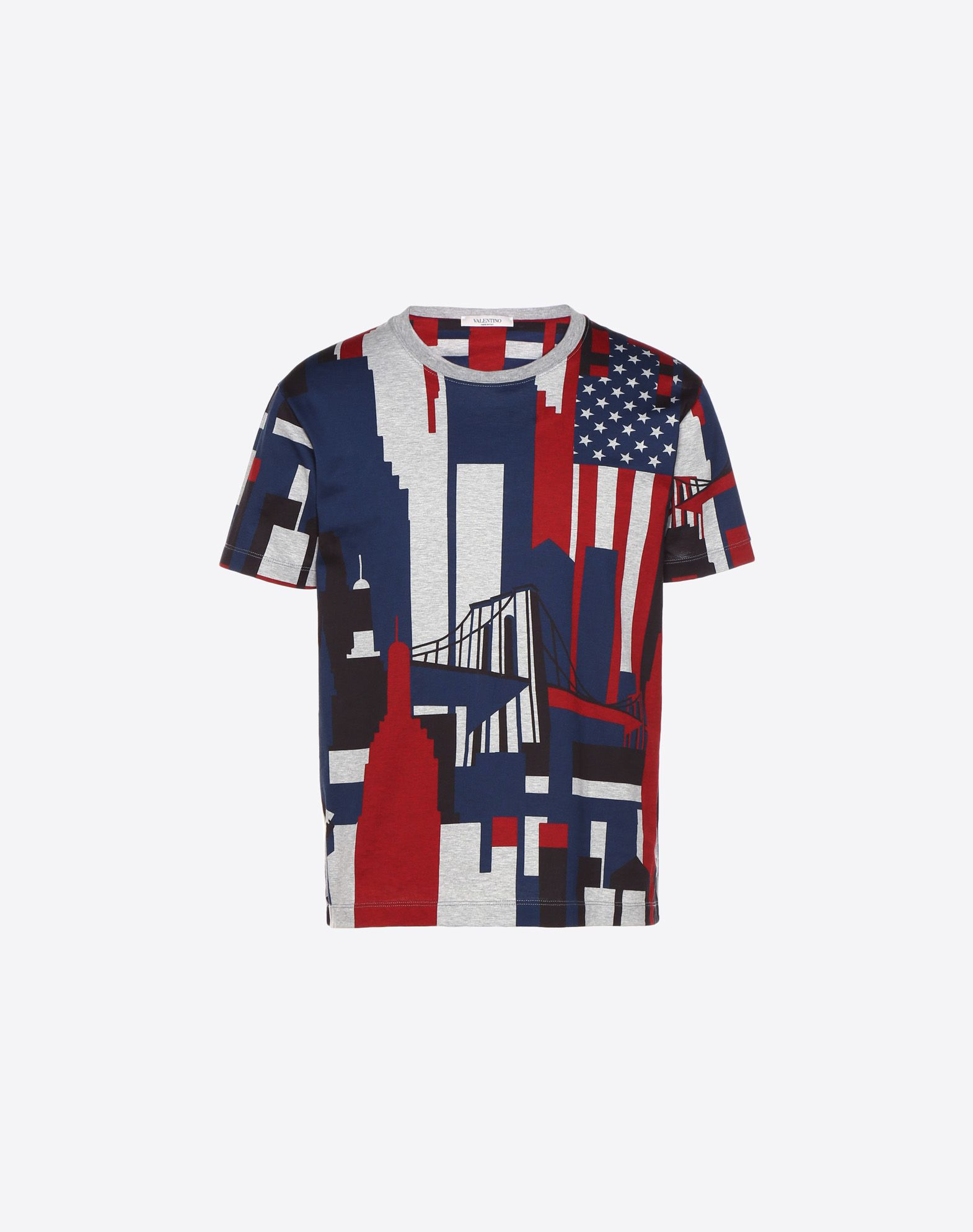 Camou Cities printed T-shirt