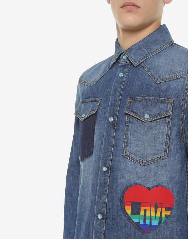 Love denim shirt