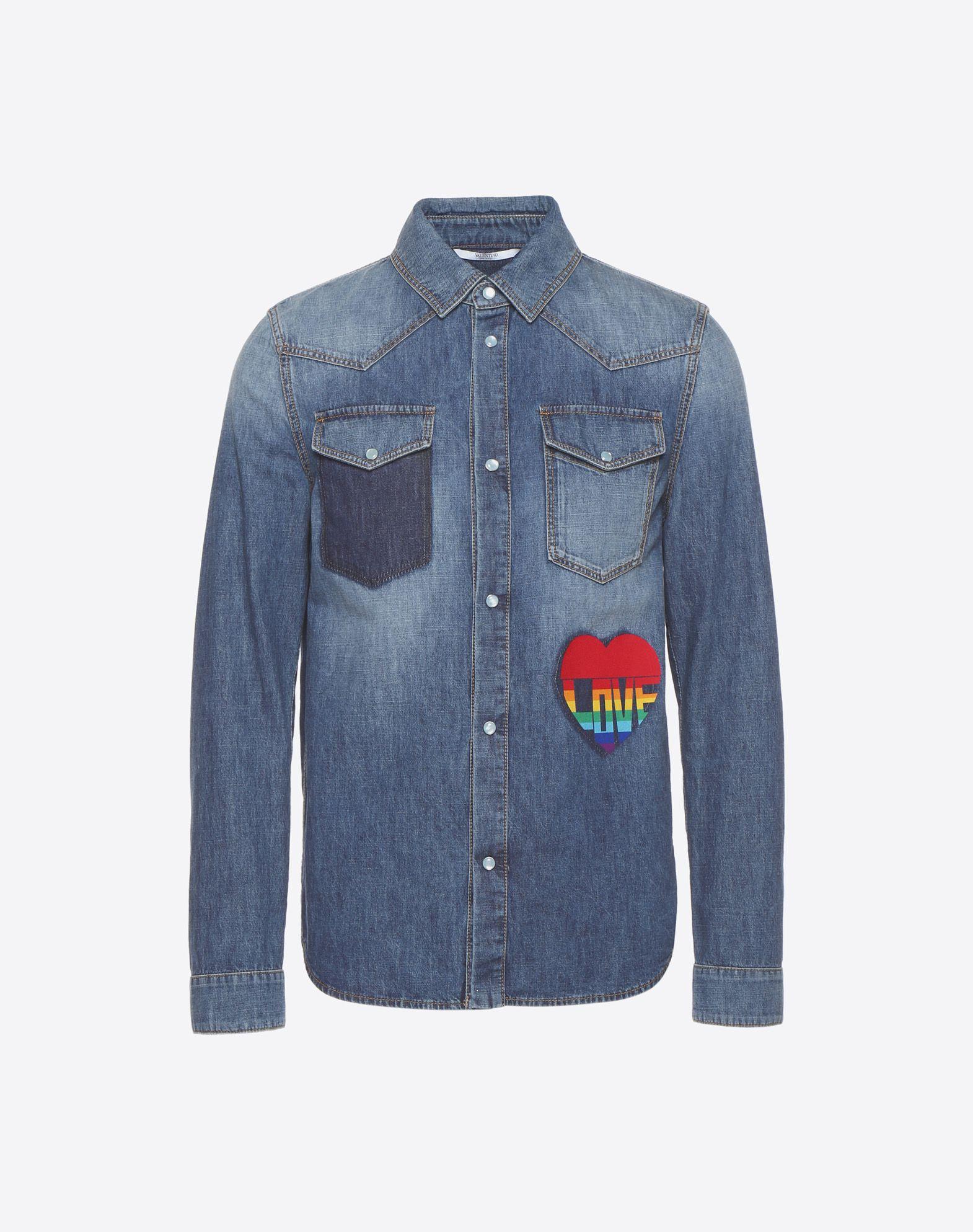 Love denim shirt