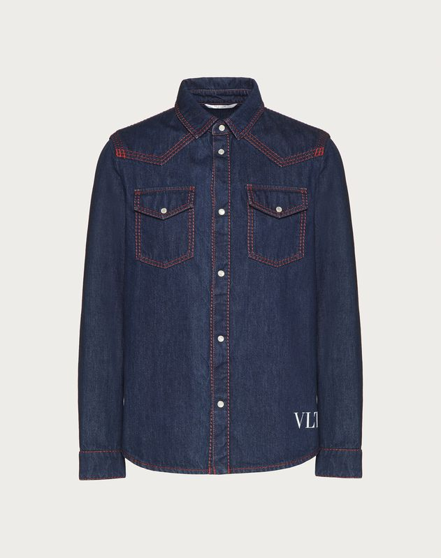 VLTN denim shirt