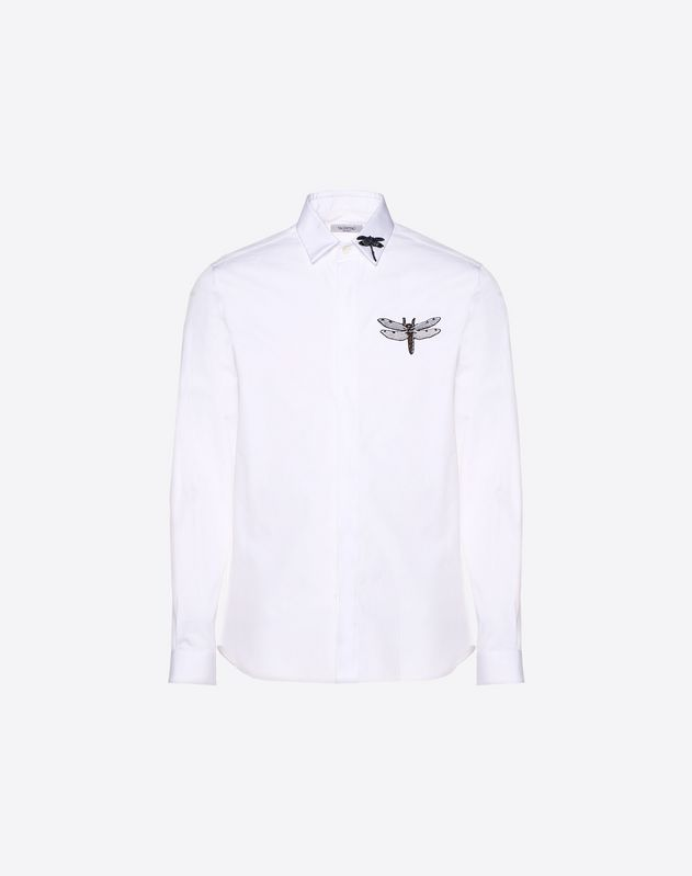 Embroidered Dragonfly shirt