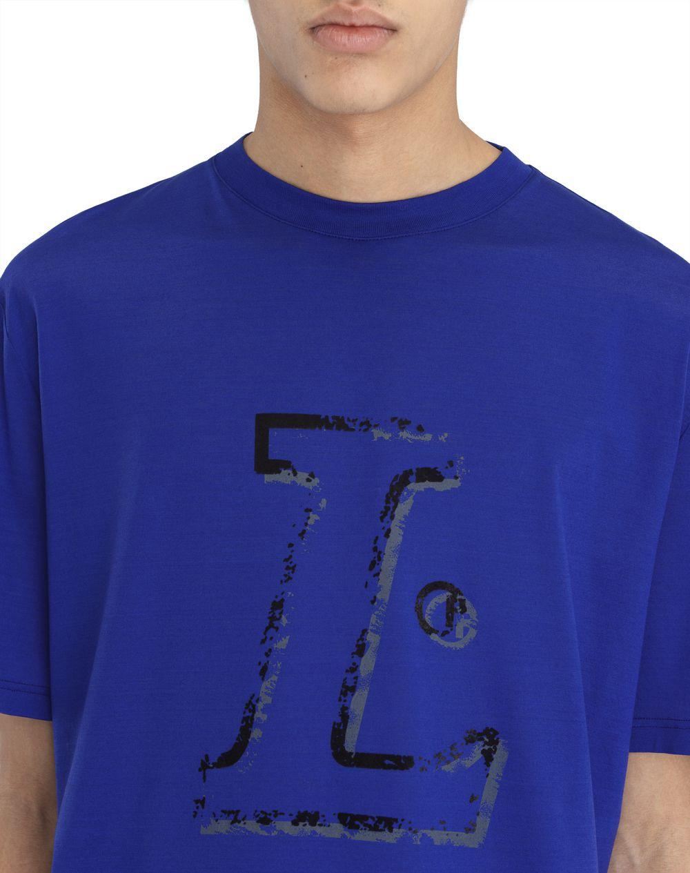 """BLUE """"L"""" T-SHIRT - Lanvin"""