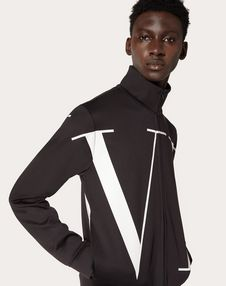 MAXI VLTN ZIP-UP SWEATSHIRT