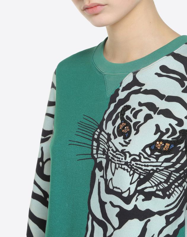 Tiger Re-edition Embroidered Sweatshirt