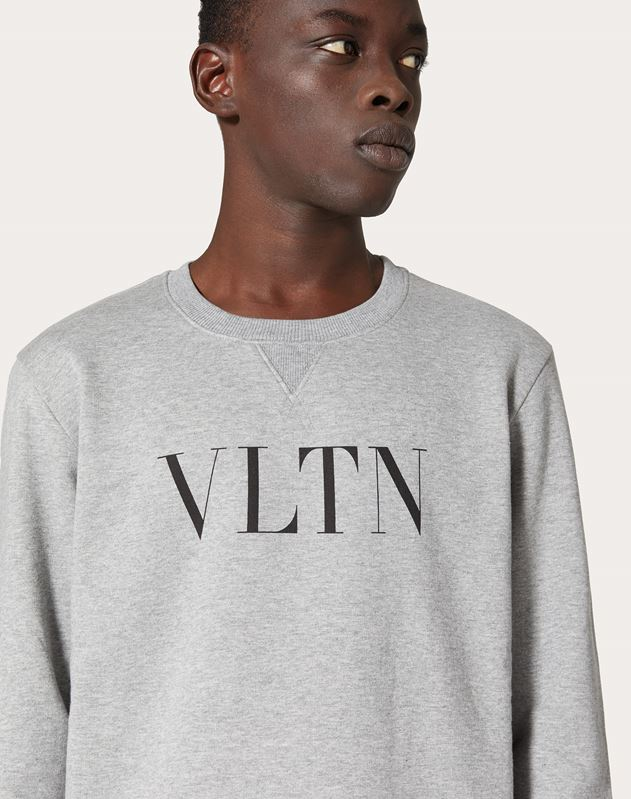 VLTN crew-neck sweatshirt