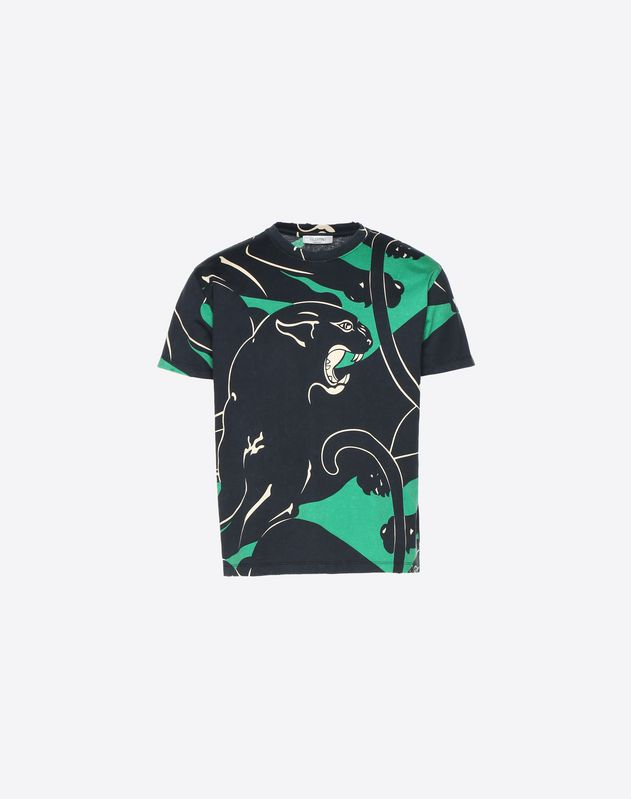 T-SHIRT WITH PANTHER RE-EDITION PRINT