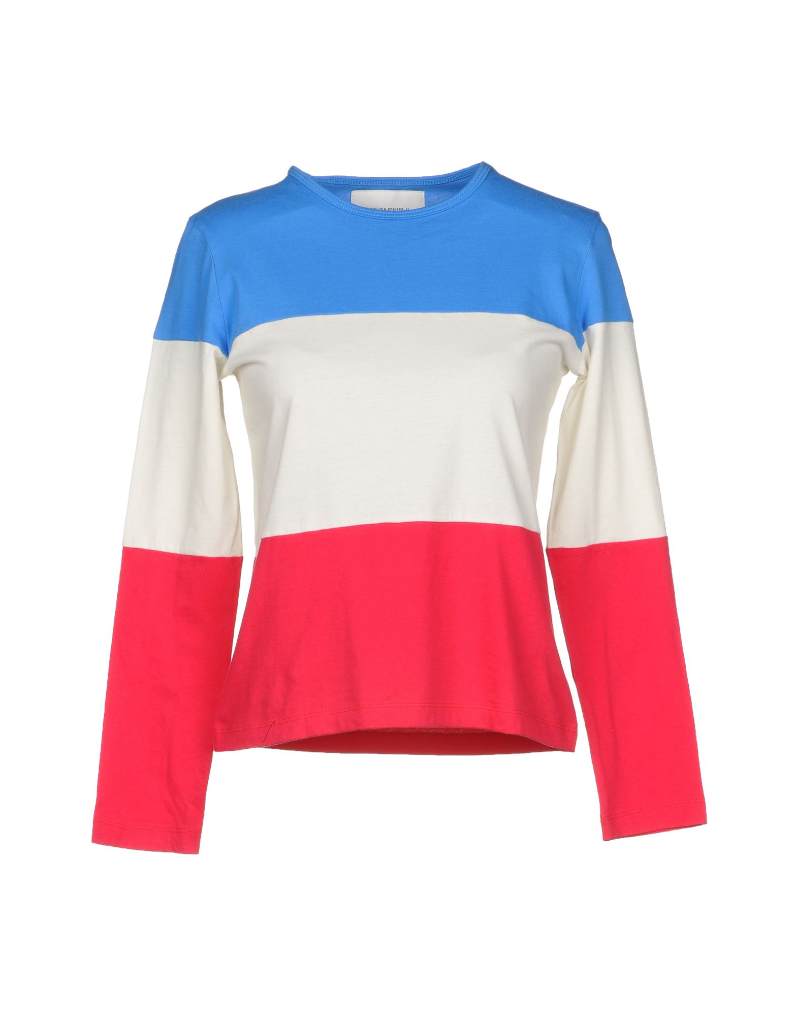 SOLID & STRIPED Футболка striped panel sweatshirt