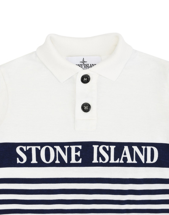 12178257dj - Polo - T-Shirts STONE ISLAND JUNIOR