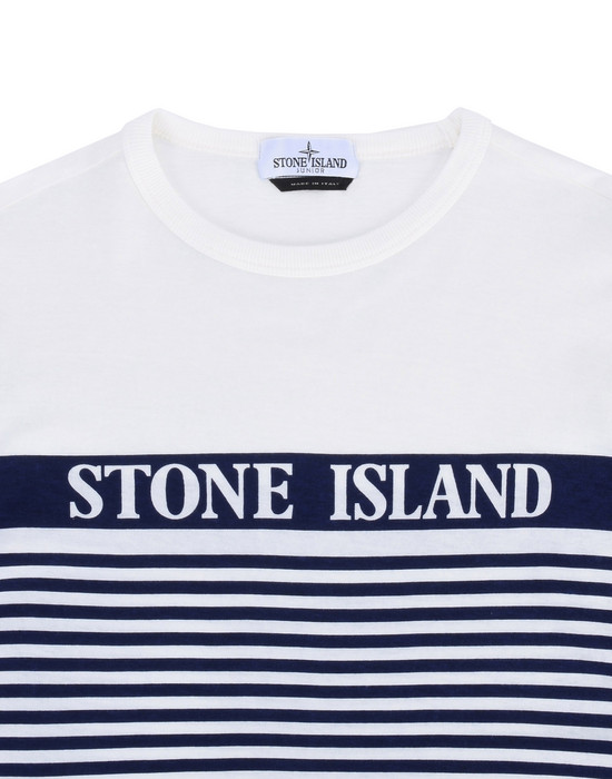12178272mv - Polo - T-Shirts STONE ISLAND JUNIOR