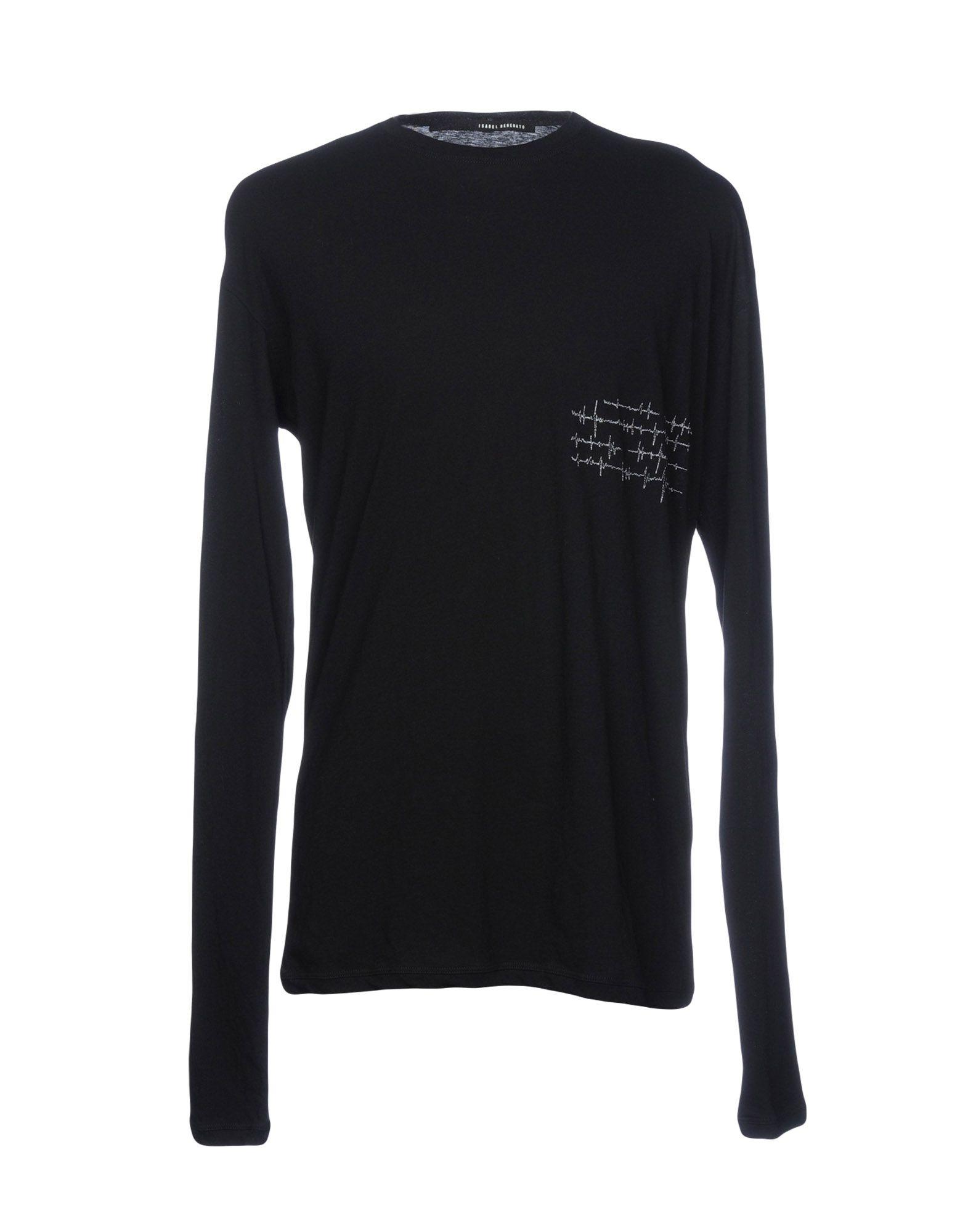 《セール開催中》ISABEL BENENATO メンズ T シャツ ブラック S 100% コットン