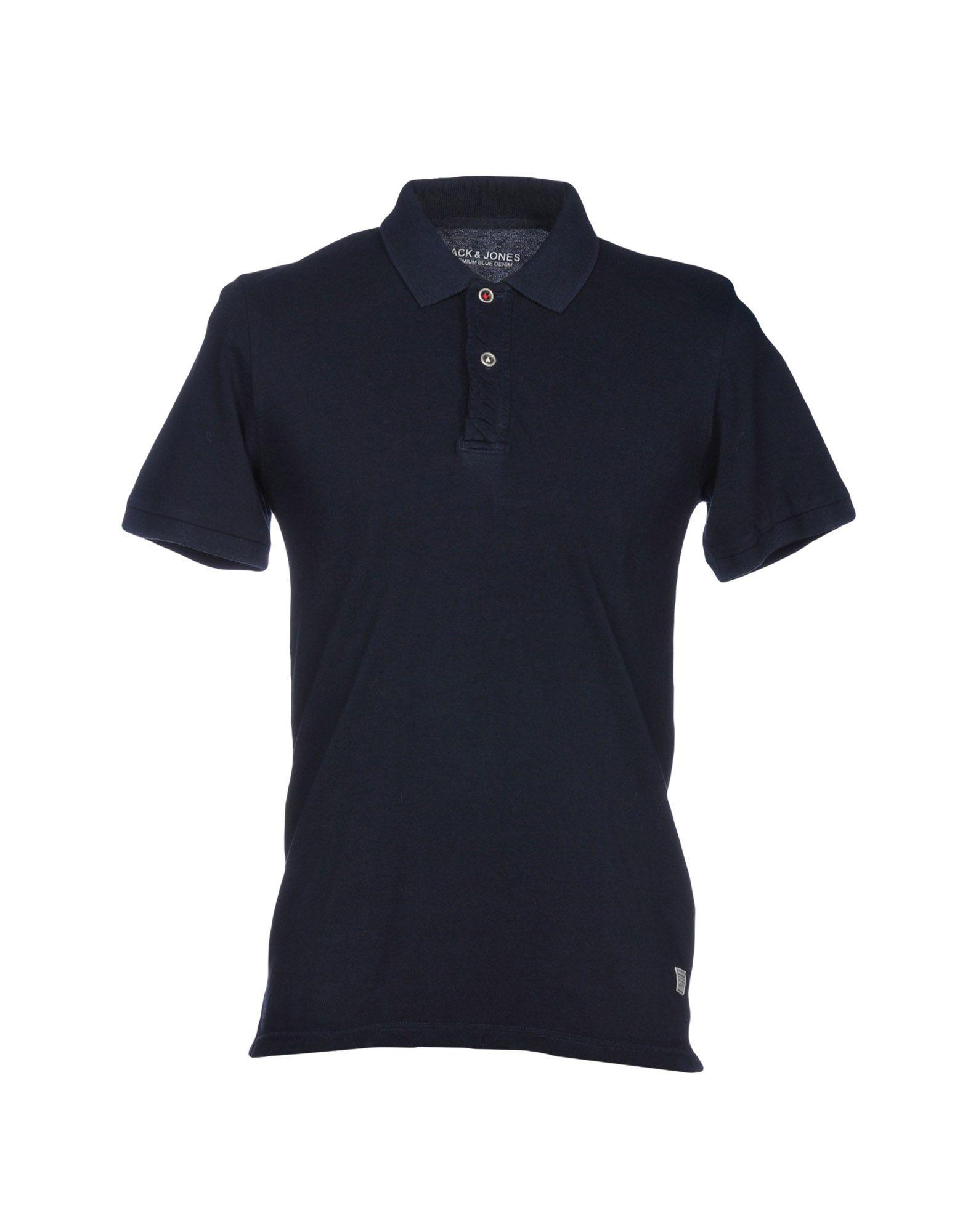 《送料無料》JACK & JONES PREMIUM メンズ ポロシャツ ダークブルー S 100% コットン