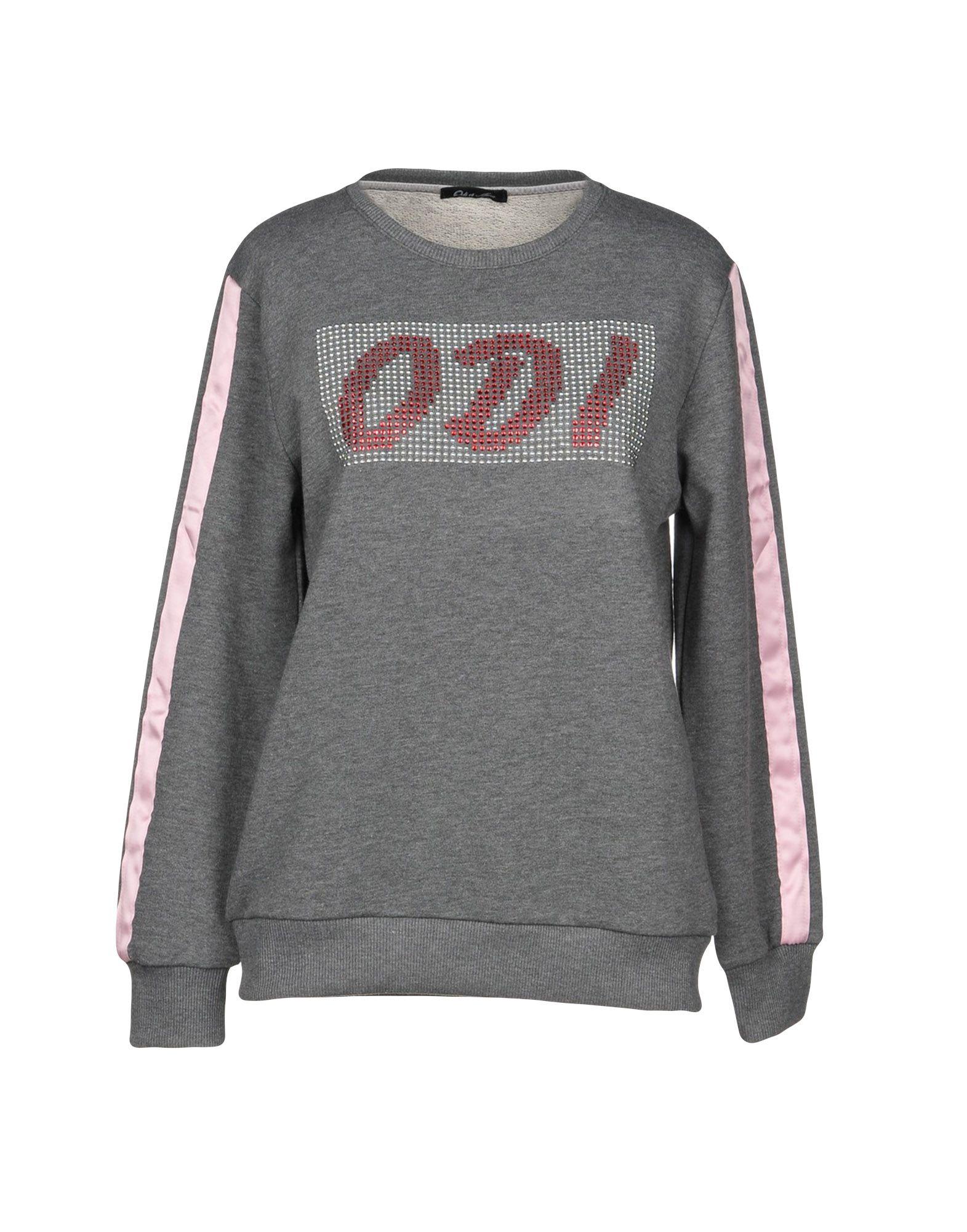 《期間限定セール中》ODI ET AMO レディース スウェットシャツ グレー XS コットン 100%