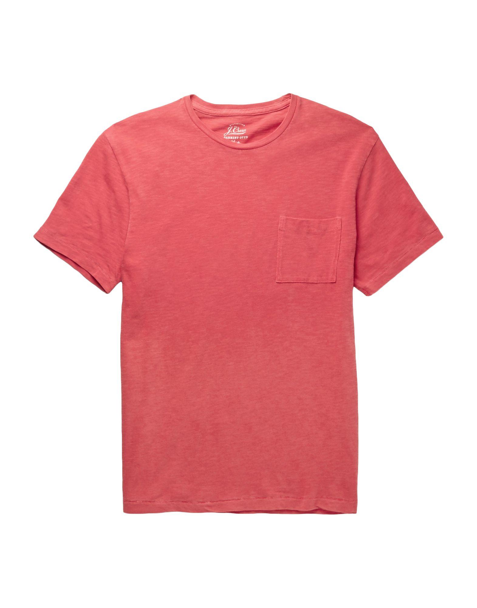 《送料無料》J.CREW メンズ T シャツ レッド XS コットン 100%
