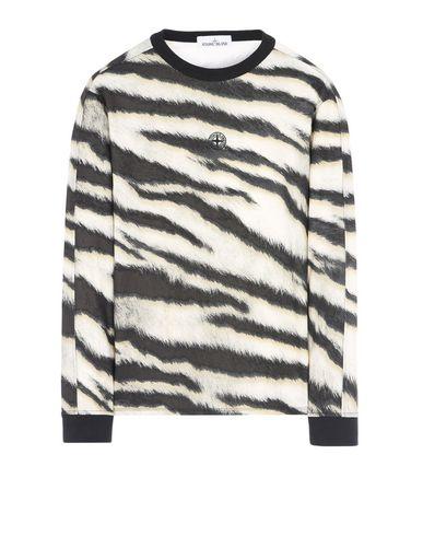 STONE ISLAND Long sleeve t-shirt 243E2 WHITE TIGER CAMO