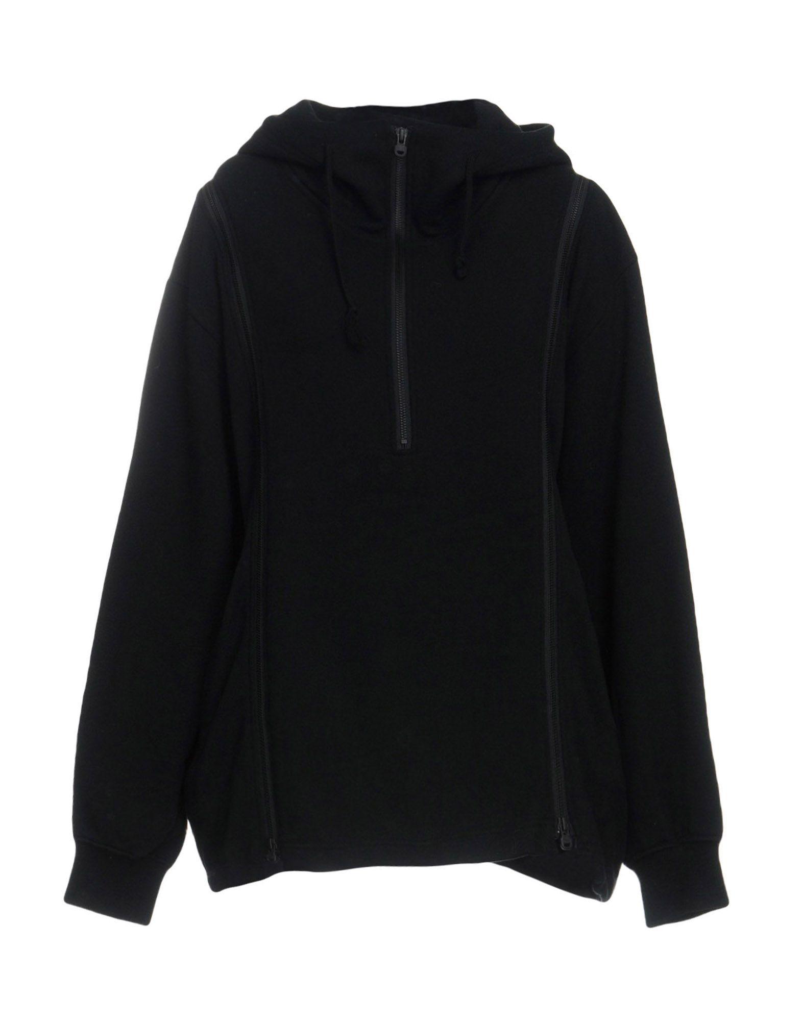 《送料無料》WHITE MOUNTAINEERING レディース スウェットシャツ ブラック 2 コットン 100%