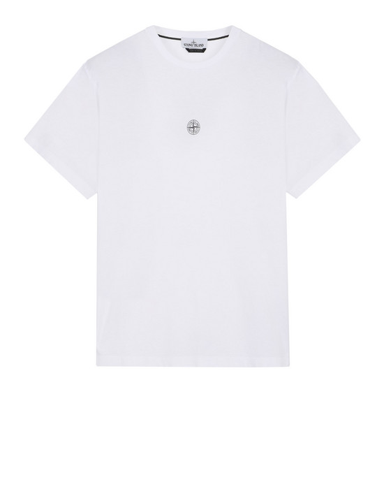 T-SHIRT A MANICHE CORTE 2NS85 INSTITUTIONAL STONE ISLAND - 0