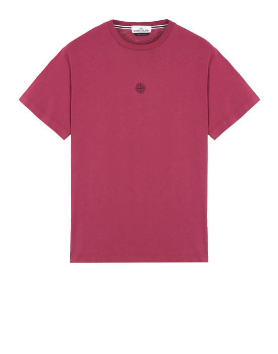 STONE ISLAND T-SHIRT A MANICHE CORTE 2NS85 INSTITUTIONAL