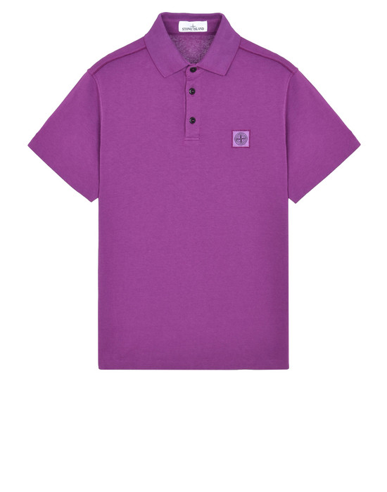 STONE ISLAND Polo shirt 21842 'FISSATO' DYE TREATMENT