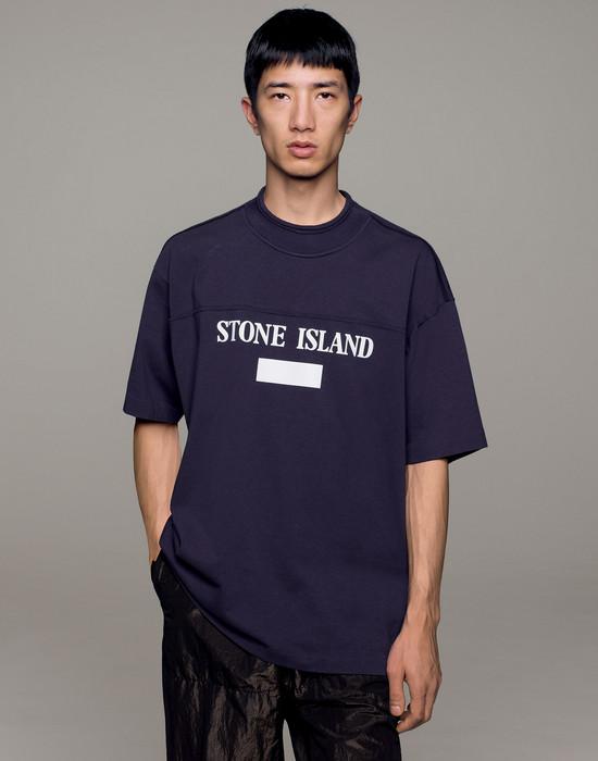 12181325bw - Polo - T-Shirts STONE ISLAND