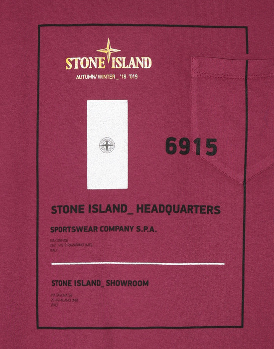 12181334sc - Polo - T-Shirts STONE ISLAND