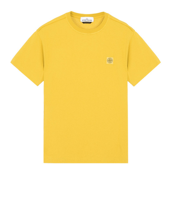 STONE ISLAND Short sleeve t-shirt 21342 'FISSATO' DYE TREATMENT