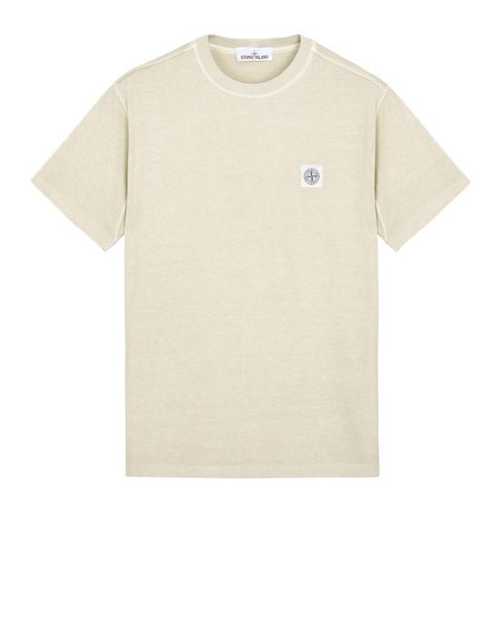 Short sleeve t-shirt 21342 'FISSATO' DYE TREATMENT STONE ISLAND - 0