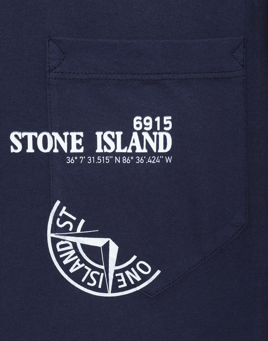 12181343tk - 폴로 - 티셔츠 STONE ISLAND