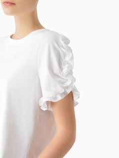 Frilled T-shirt