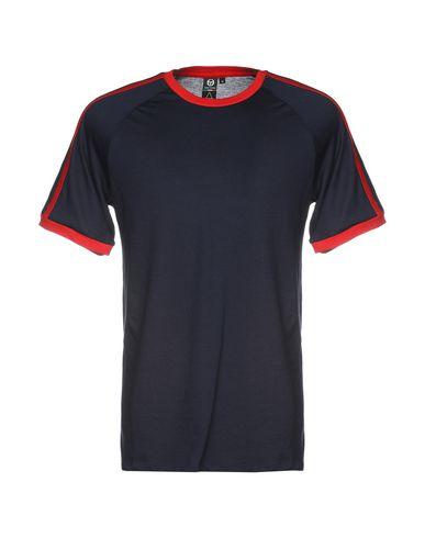 Фото - Женскую футболку SERGIO TACCHINI x ELEVEN PARIS темно-синего цвета