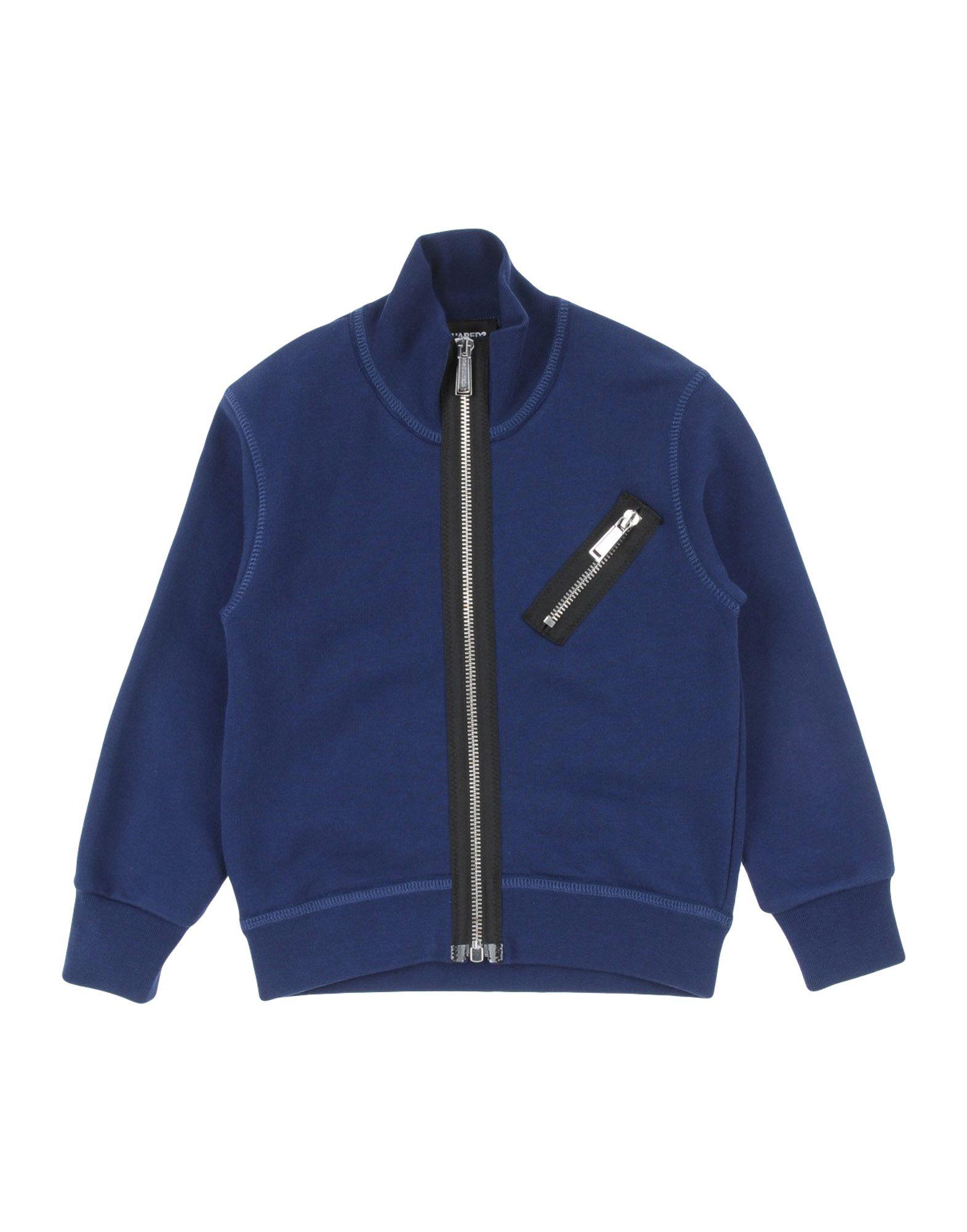 DSQUARED2 Jungen 3-8 jahre Sweatshirt6 blau