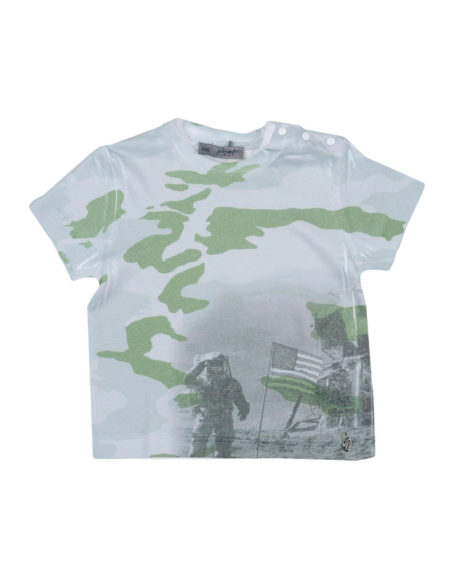 Grant Garçon Baby Kids' T-shirts In Green