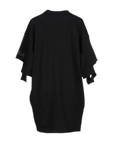 Фото 2 - Женское короткое платье GAëLLE Paris черного цвета