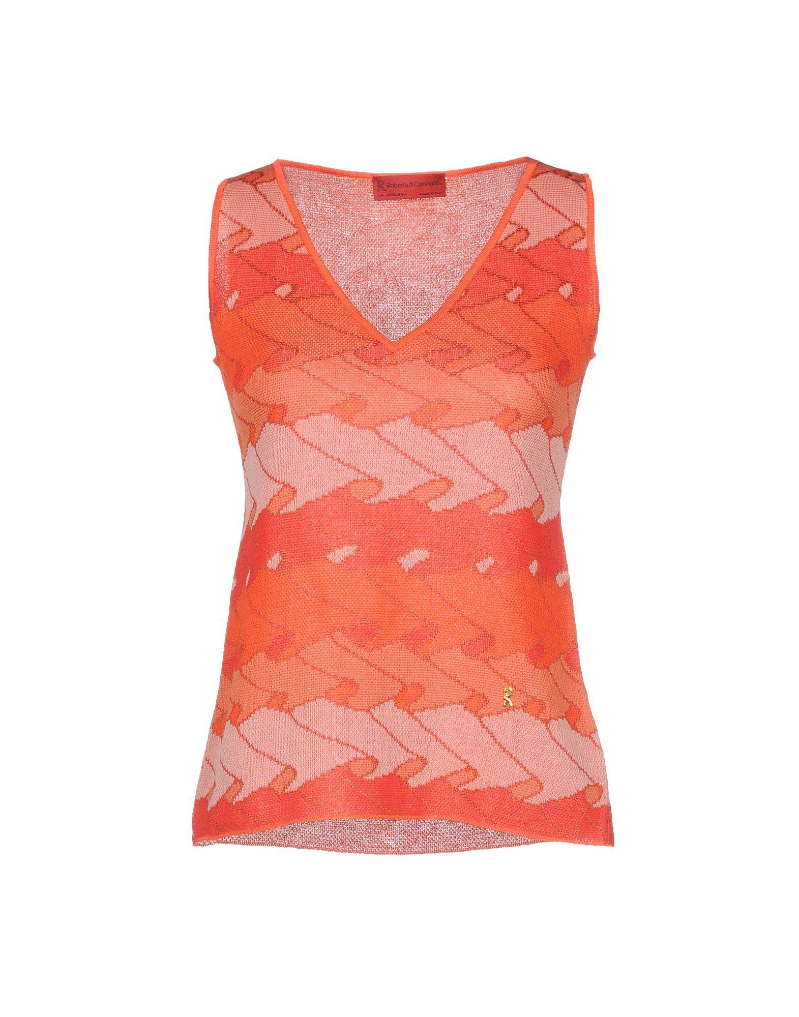 ROBERTA DI CAMERINO Sweater in Orange