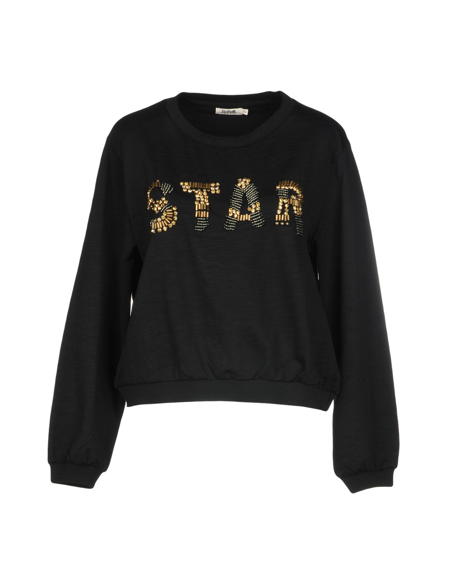 MOLLY BRACKEN Sweatshirt in Black