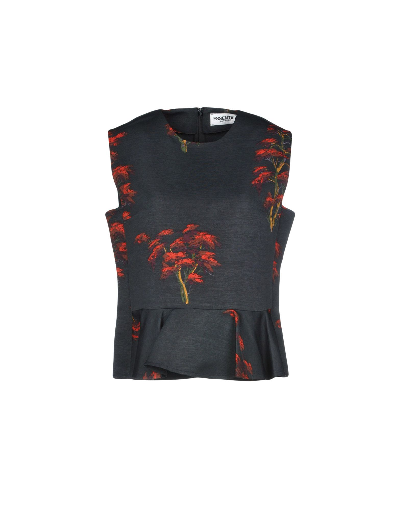 ESSENTIEL ANTWERP Топ без рукавов elite fitness massager roller stick trigger point muscle roller exercise therapy releasing tight body massage tool gym rolling