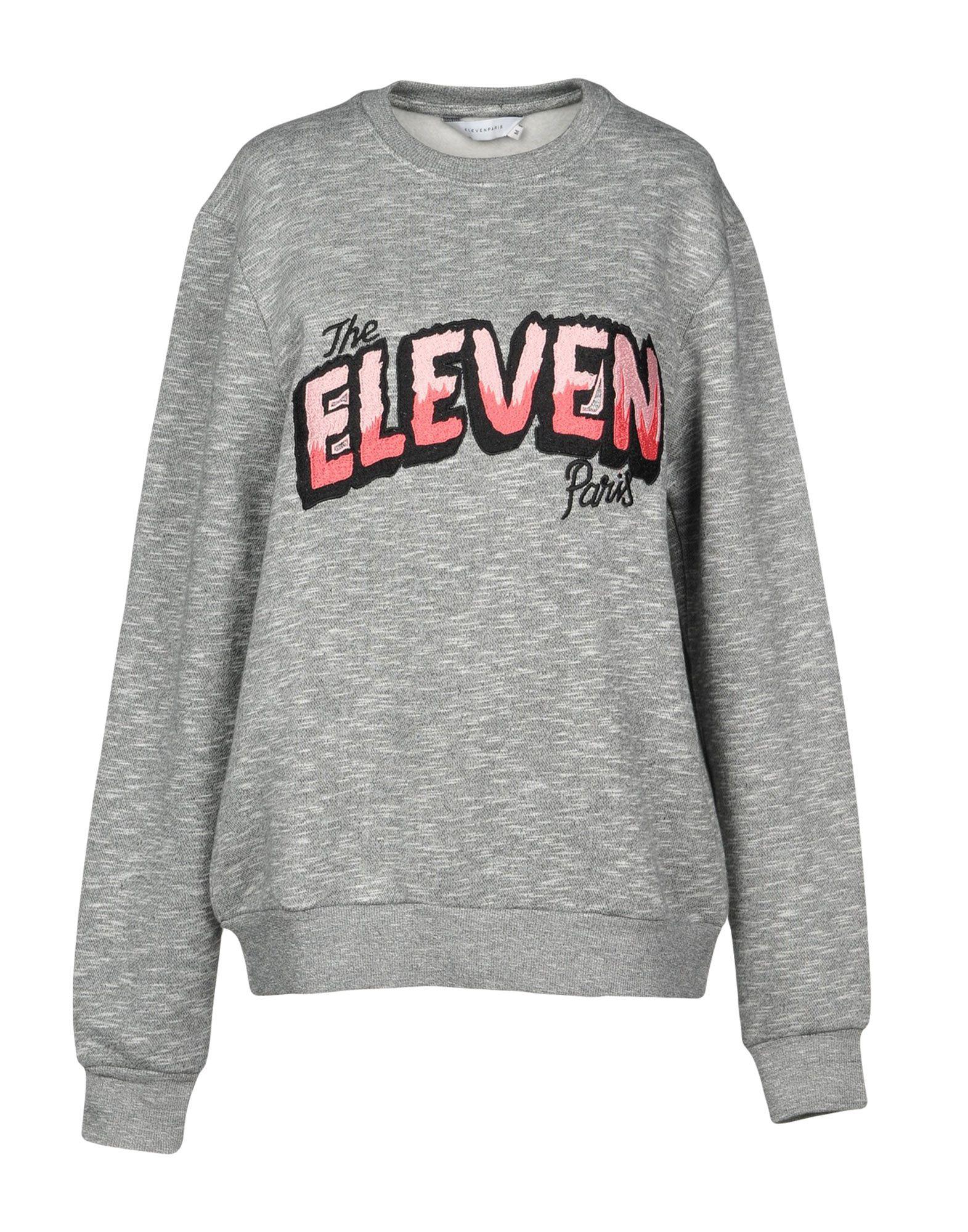ELEVEN PARIS Толстовка футболка eleven paris eleven paris el327emahbz7