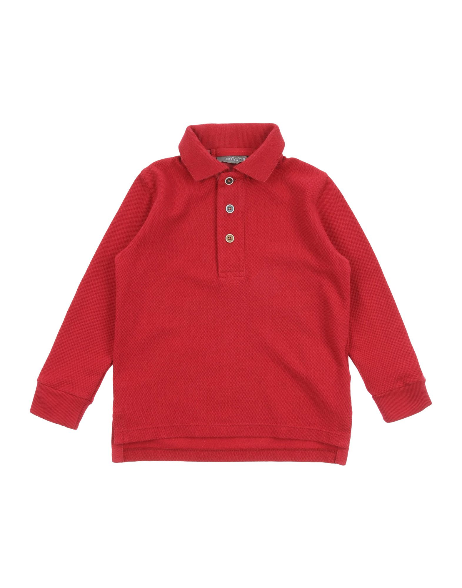 OFFICINA 51 T-Shirt in Brick Red