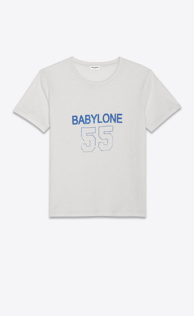 Babylone 55 T-shirt in destroy jersey